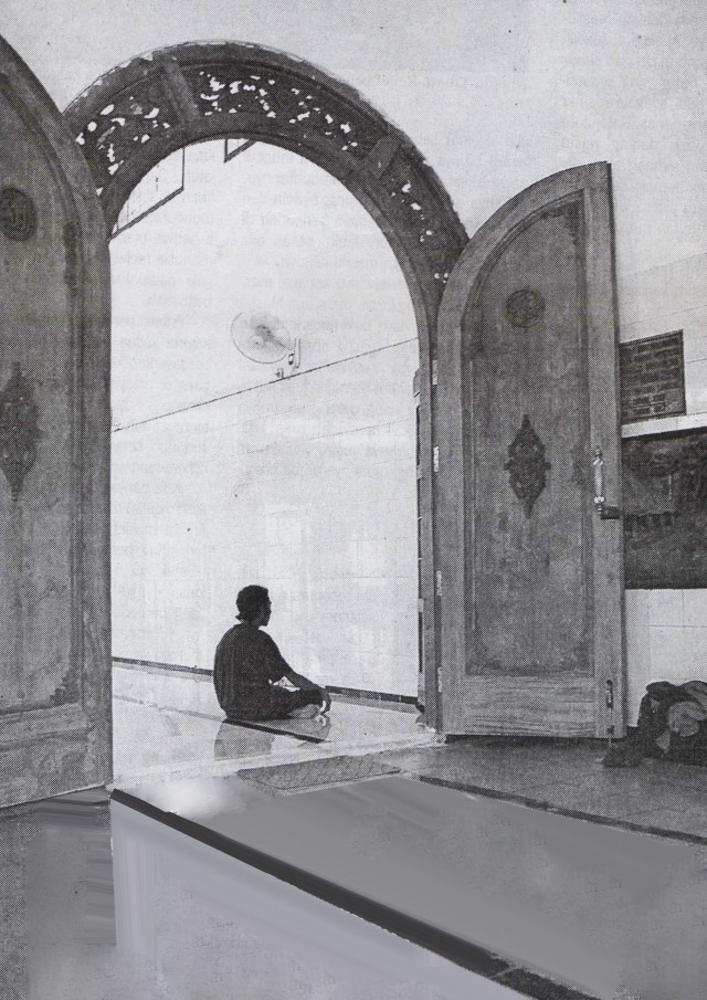 Masjid Tiban, Masjid Rahmat Surabaya.0001